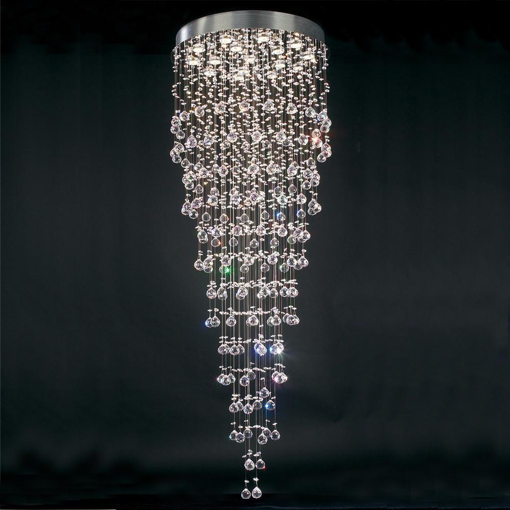 Beverly 16-Light Crystal Pendant Chandelier Ceiling PLC Lighting