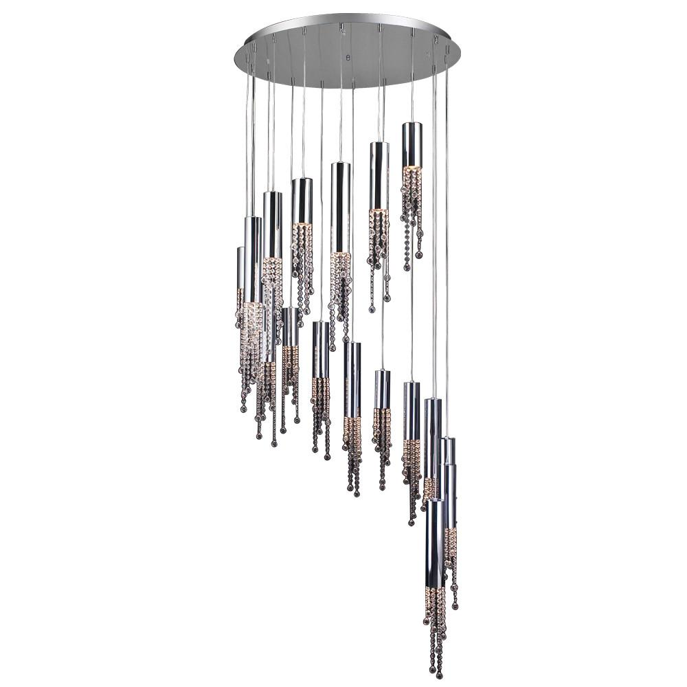 "Trento 36""w 18-Light Chandelier Ceiling PLC Lighting"