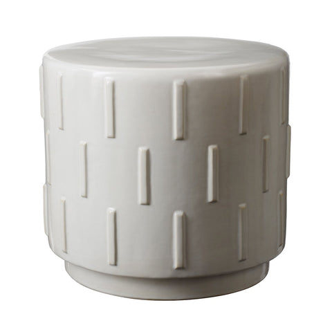 "Tread 16""w Stool In White"