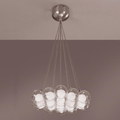 Hydrogen 19-Light Pendant Chandelier