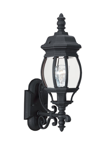 Wynfield One Light Outdoor Wall Lantern - Black