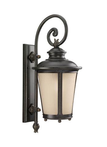 Cape May One Light Outdoor Wall Lantern - Burled Iron