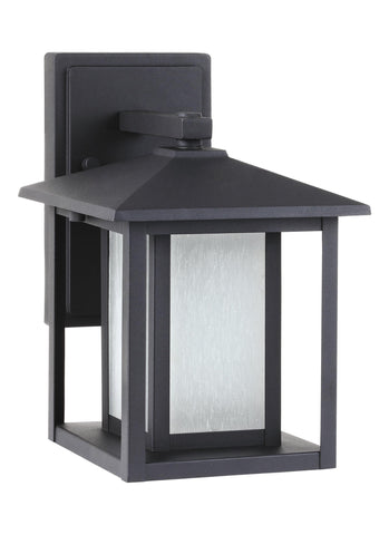 Hunnington One Light Outdoor Wall Lantern - Black
