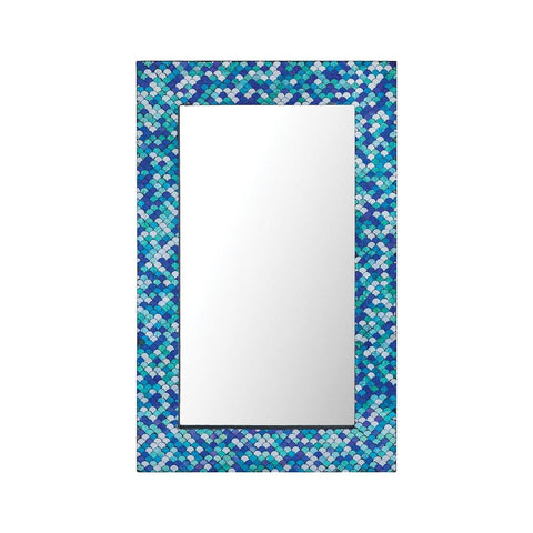 Aphrodisia 2' x 4' Large Mosaic Glass Mirror