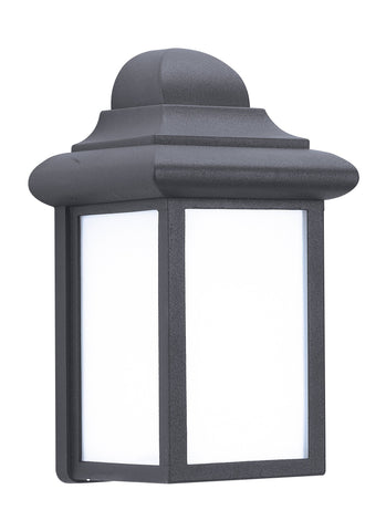 Mullberry Hill One Light Outdoor Wall Lantern - Black