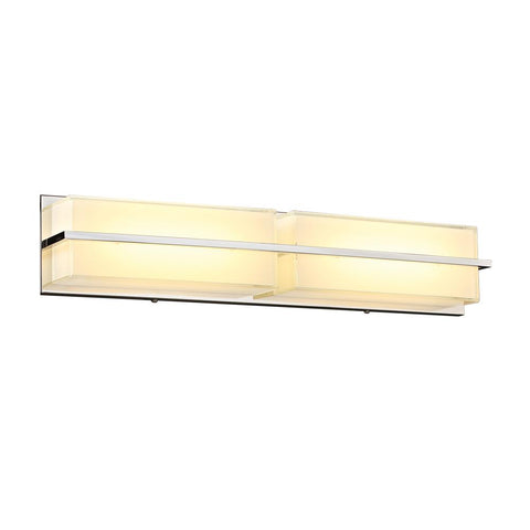 PLC 1 Two light vanity from the Tazza collection