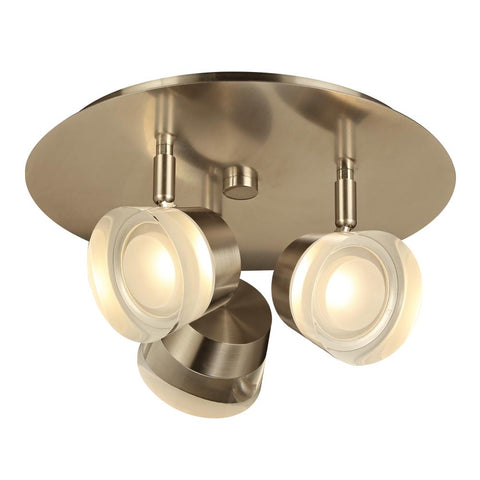 PLC 1 3 Vanity Ceiling light from the Sitra collection