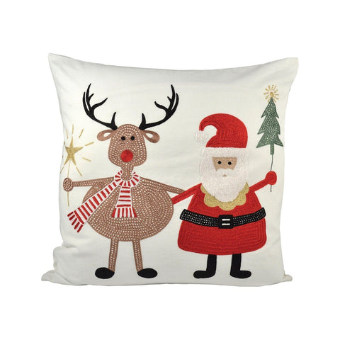 Santa And Friends 20x20 Pillow Accessories Pomeroy