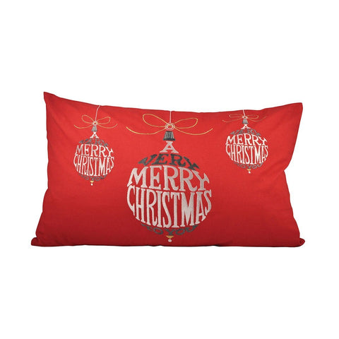 Very Merry Christmas 26x16 Lumbar Pillow Accessories Pomeroy