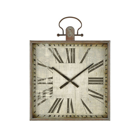 "Cornersmith 30""h Wall Clock Wall Art Pomeroy"