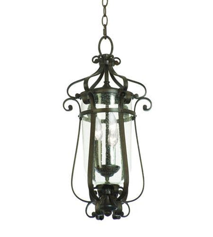 Kalco Hartford Outdoor 3 Light Medium Hanging Lantern 9235AC