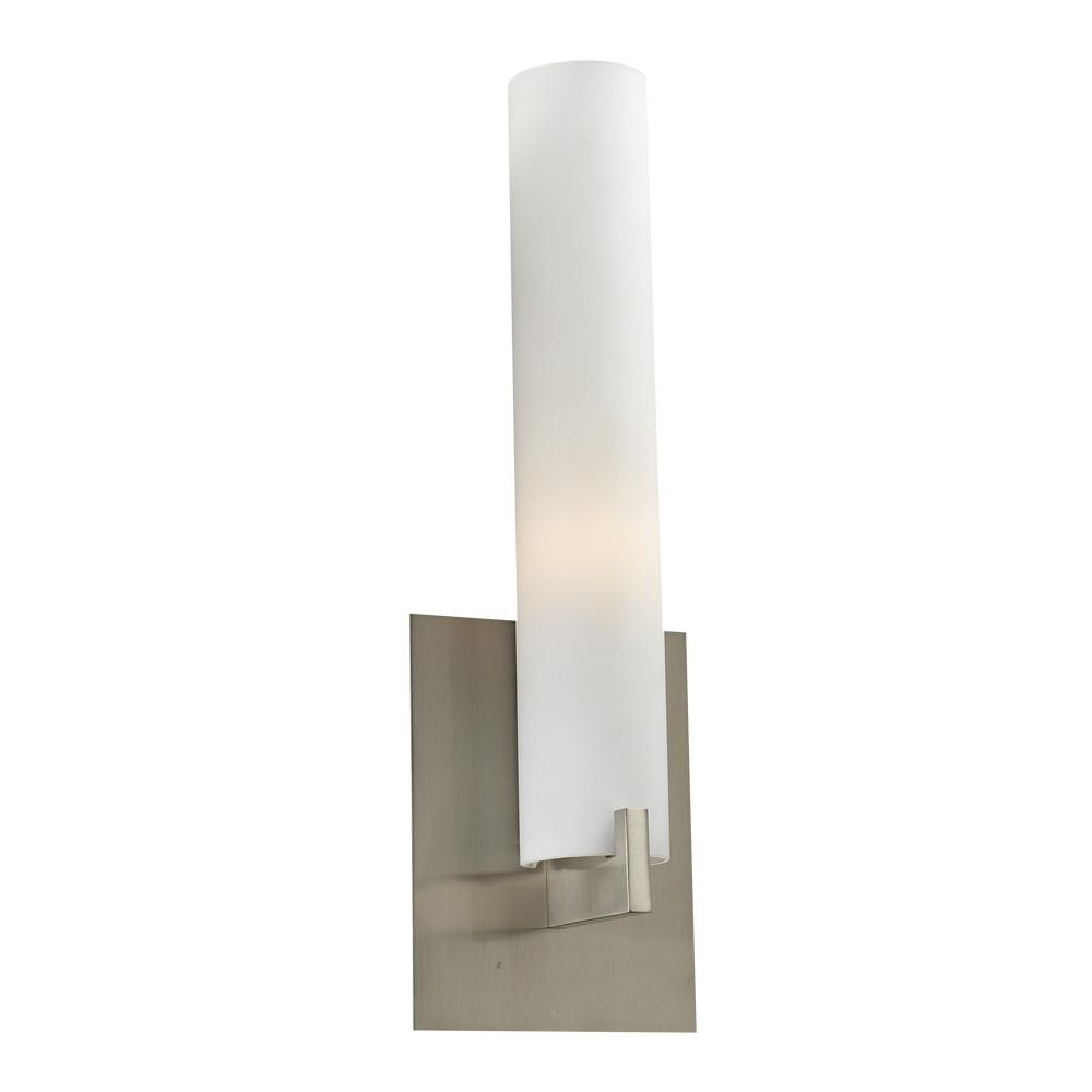 "Polipo 14.5""h ADA Wall Sconce - Satin Nickel Wall PLC Lighting"