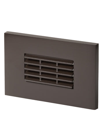 Louver LED Step Light-171 - Painted Bronze Outdoor Sea Gull Lighting