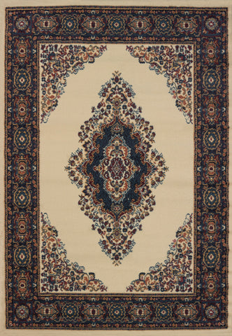 "Manhattan Cathedral Cream Rug (5 Sizes) Rugs United Weavers 1'10"" x 3' Mat"