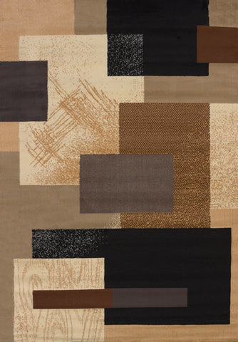 "Manhattan Soho Brown Rug (5 Sizes) Rugs United Weavers 1'10"" x 3' Mat"