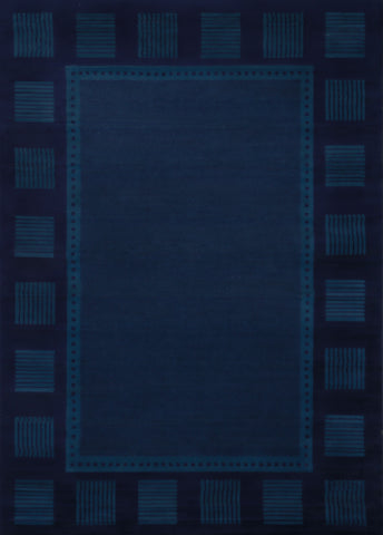 "Manhattan Long Island Navy Accent Rug 1'10"" x 3'"