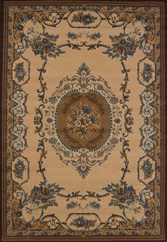 "Teton Brown Rug 1'10"" x 7'2"""