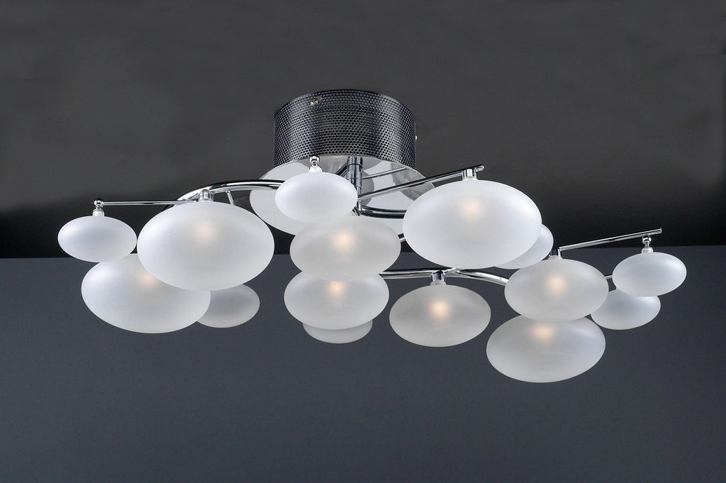 "Comolus 14""w 8-Light Ceiling Light Ceiling PLC Lighting"