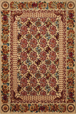 Timeless Multicolor Rug - 5 size Options Rugs Nourison