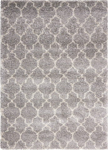 Amore Ash Shag Area Rug - 3 Size Options
