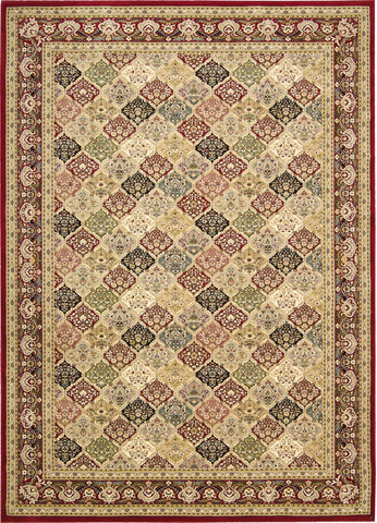 Antiquities Washington Square Multicolor Rug - 7 Size and Shape Options