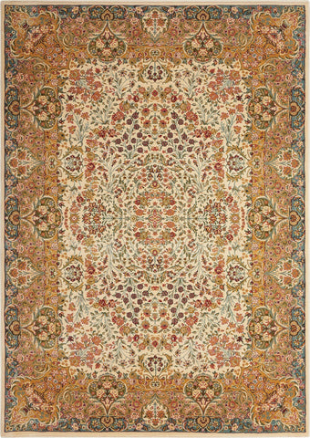 Antiquities Stately Empire Ivory Rug - 6 Size and Shape Options