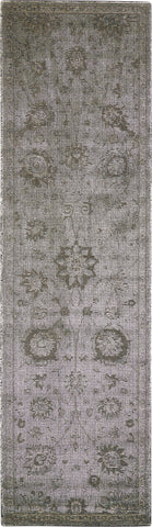 "Nourison Luminance Graphite Area Rug 2'3"" x 8'"