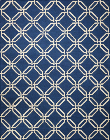 Linear Navy Rug - 5 Size Options
