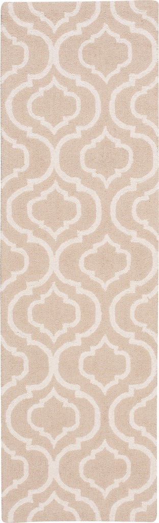 "Linear Beige Rug - 5 Size Options Rugs Nourison 2'3"" x 7'6"" Runner"
