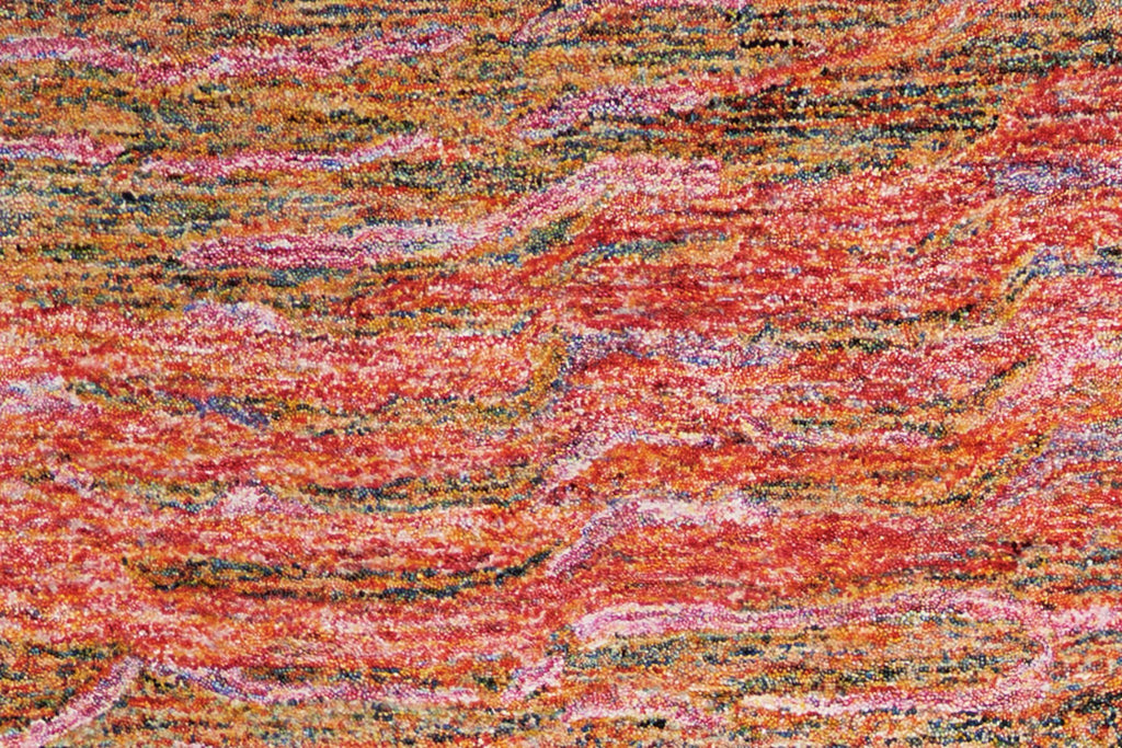 "Gemstone Fire Opal Rug - 5 Size Options Rugs Nourison 3'9"" x 5'9"" Accent"