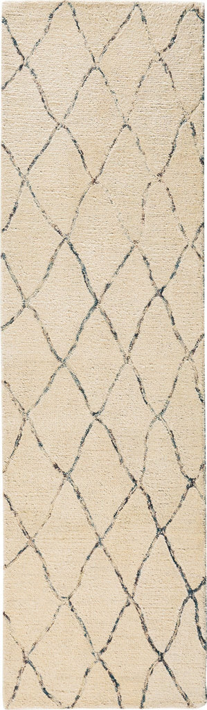 "Intermix Sand Rug - 4 Sizes Available Rugs Nourison 2'3"" x 8' Runner"