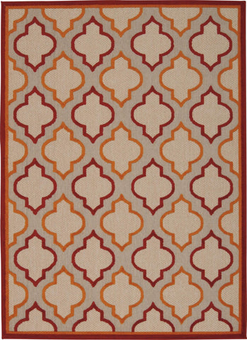 Aloha Red Indoor/Outdoor Rug - 5 Sizes Available