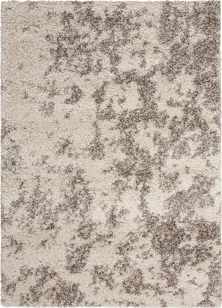 "Amore Cobble Stone Shag Rug - 3 Size Options Rugs Nourison 3'11"" x 5'11"""