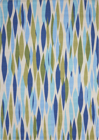"Waverly Sun & Shade Bits & Pieces Seaglass Indoor/Outdoor Rug By Nourison 2'3"" x 3'9"""