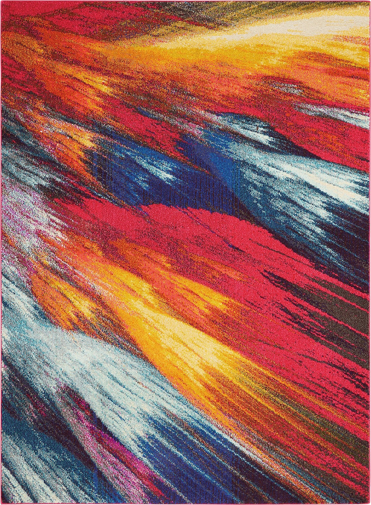 "Celestial Burst Rug - 3 Sizes Rugs Nourison 3'11"" x 5'11"" Accent"