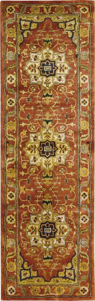 "Jaipur Brick Rug - 8 Size and Shape Options Rugs Nourison 2'4"" x 8' Runner"