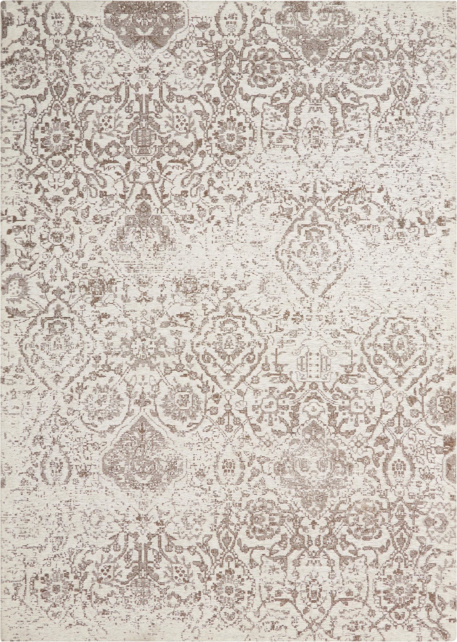 "Damask Ivory Rug - 3 Size Options Rugs Nourison 2'3"" x 3'9"""