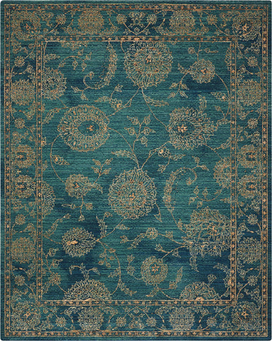 2020 Teal Rug - 12 Size and Shape Options