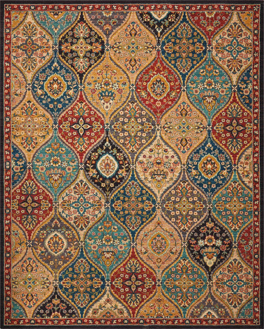 2020 Multicolor Rug - 12 Size and Shape Options