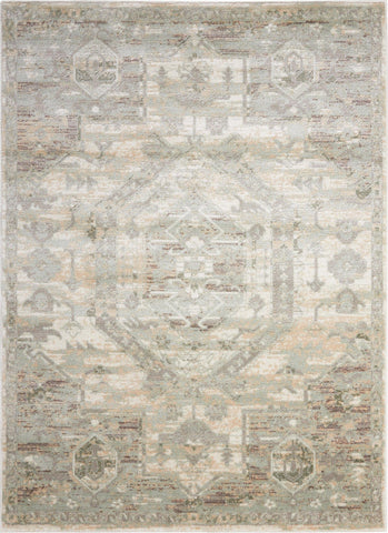 Euphoria Ivory Rug - 8 Size and Shape Options Rugs Nourison 2' x 3'