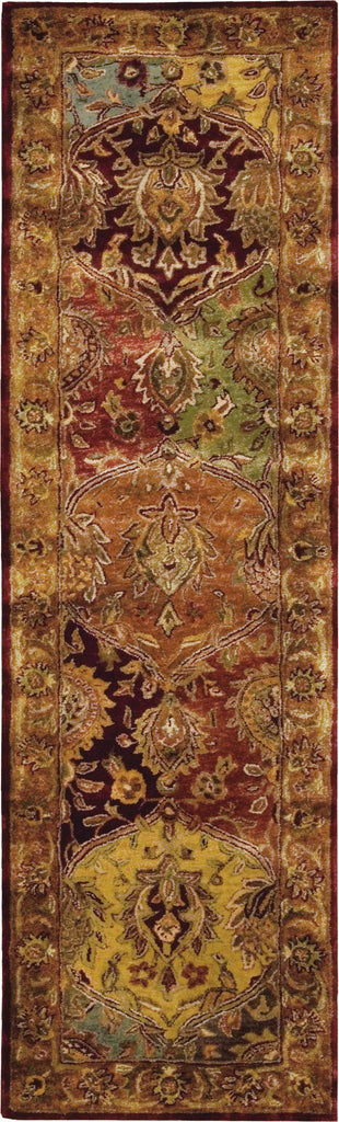 "Jaipur Multicolor Rug - 8 Size and Shape Options Rugs Nourison 2'4"" x 8' Runner"