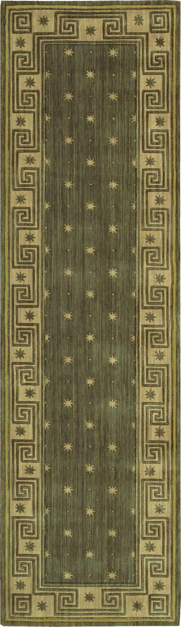 "Cosmopolitan Spruce Rug - 6 Size Options Rugs Nourison 2'3"" x 8' Runner"
