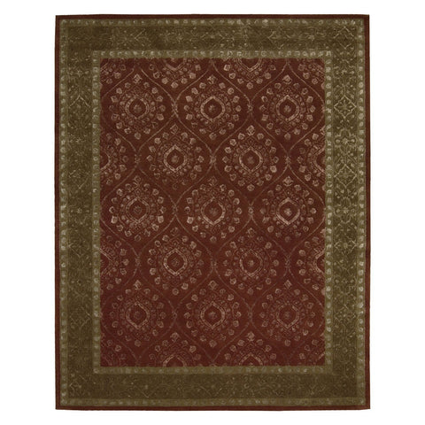 "Symphony Ruby Rug - 4 Size Options Rugs Nourison 5'6"" x 7'5"" Area"