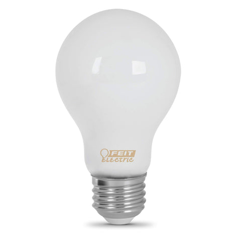 LED 60W Equiv. Non Dimmable - 2700K, 3 Pk Bulbs Feit Electric