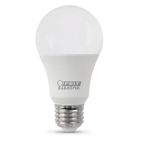 Feit Electric A19 60 Watt Equiv., 10 Year, 11K, Non-Dimmable LED, 800 Lumen, 4100K