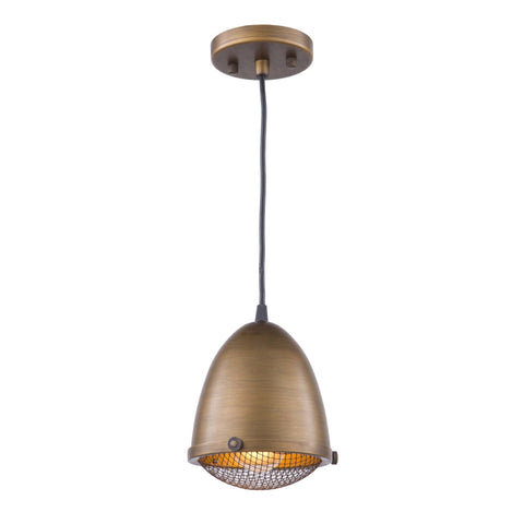 Retro Loft 6.75 in. wide Bronze Pendant