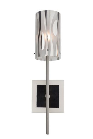 Chroman Empire 1-Lt Sconce - Chrome