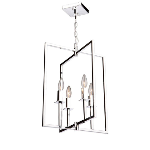 "Allston 15""w Chrome Chandelier"