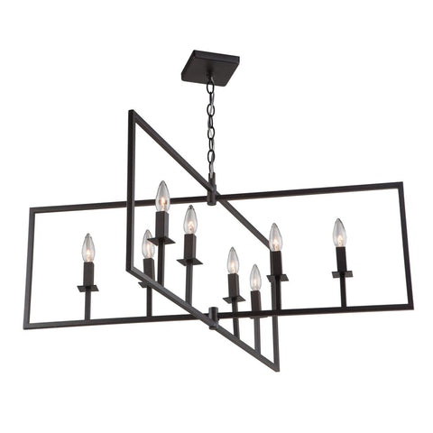 "Allston 35.5""w Oil Rubbed Bronze Pendant Chandelier"