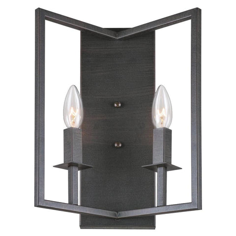 "Allston 14""h Oil Rubbed Bronze Wall Sconce"